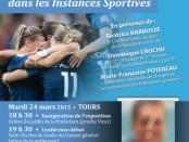 "Debat sport et femmes Tours ""Femmes3000Touraine"""