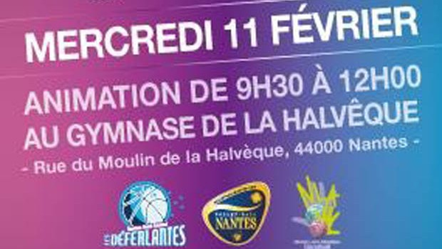 Hand Volley Basket initiation filles