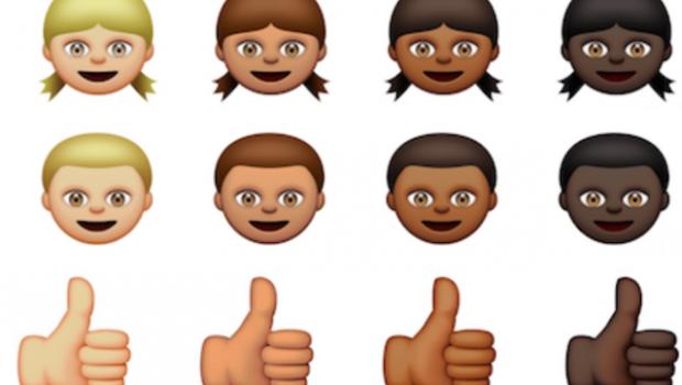 icones apple diversite noir blanc