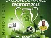 Affiche Cecifoot Coupe de France
