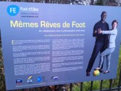 Exposition Tours Footdelles memes reves de foot