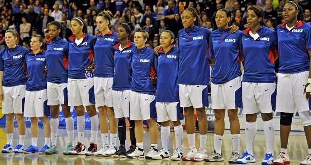 france basket feminines (photo S. Guiochon Le Progres)