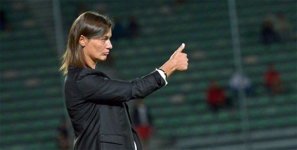 Corinne Diacre coach Clermont Foot