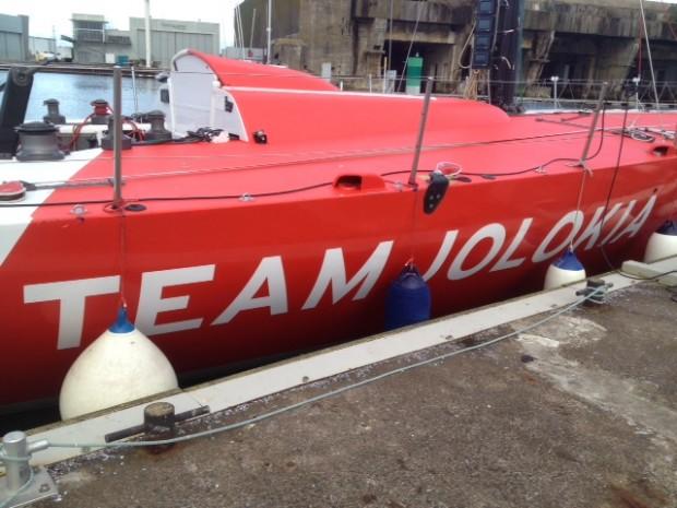 Team Jolokia bateau quai
