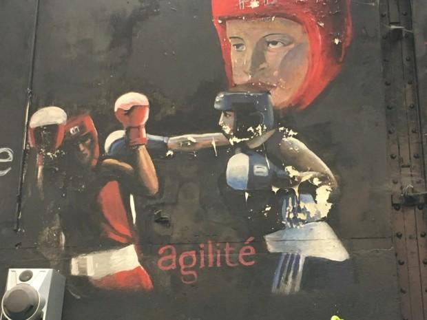 FDJ sponsoriseme Ourahmoune mur