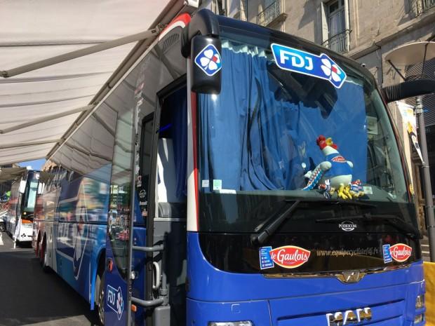 TDF Bus equipe