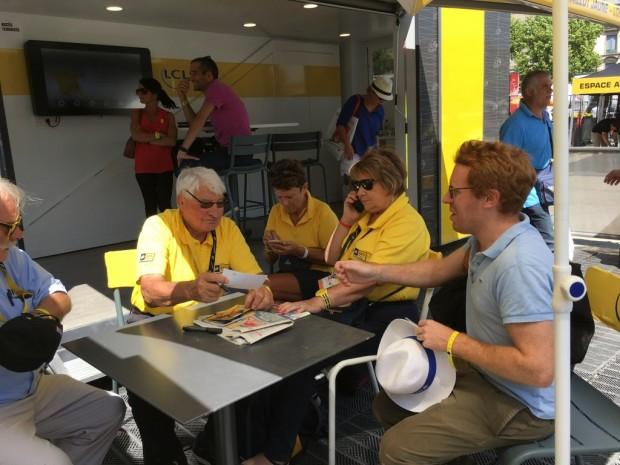 TDF Poulidor signe encore Andre