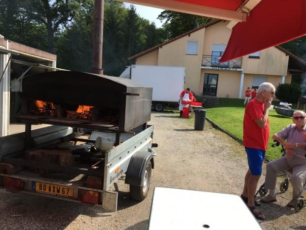 FC Vendheim feu matin