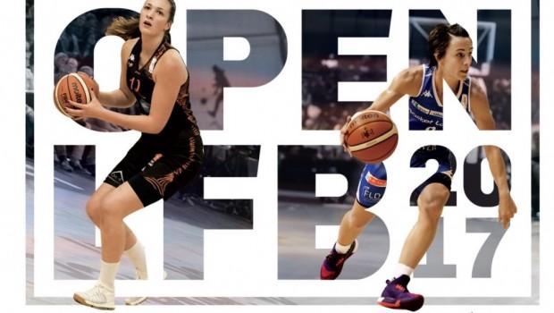 Basket Open LFB 2017 affiche