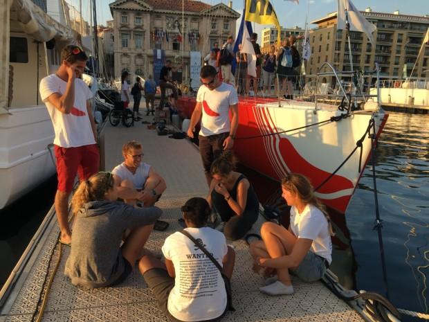 Diversité briefing vieux port Marseille