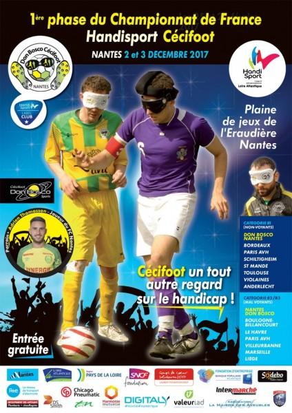 Cecifoot 2017 Nantes