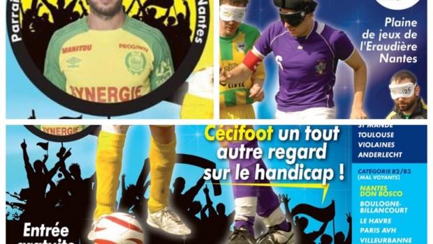 Cecifoot2017 affiche Nantes