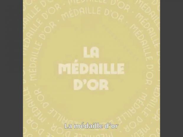 Paris 2024 médaille