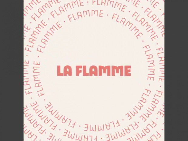 Paris 2024 flamme