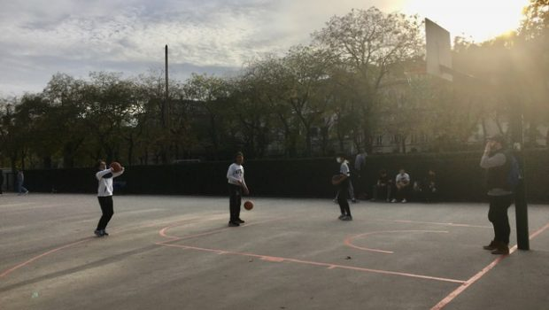 basket dehors paris